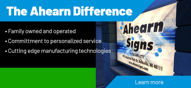 Information about Ahearn Signs