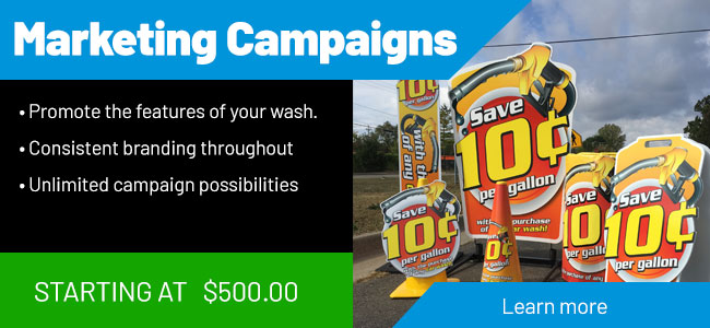 Car Wash Signage Marketing Campaigns