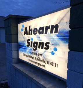Ahearn Signs Building Sign