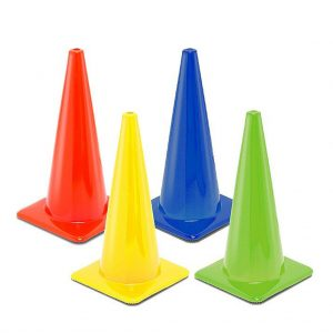 Blank Traffic Cones Product Photo