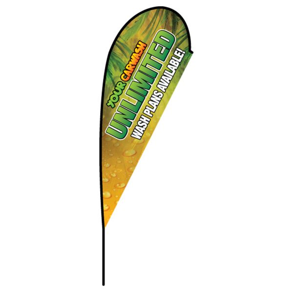 Teardrop Flag Product Photo