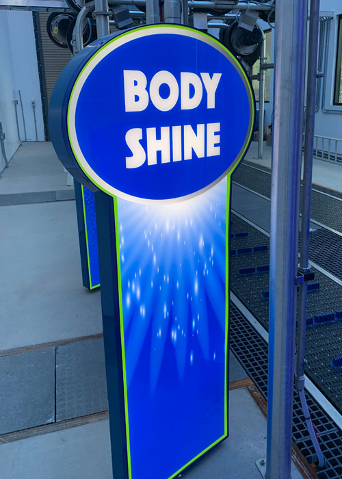 LIT XL Tunnel Fixture Body Shine Design