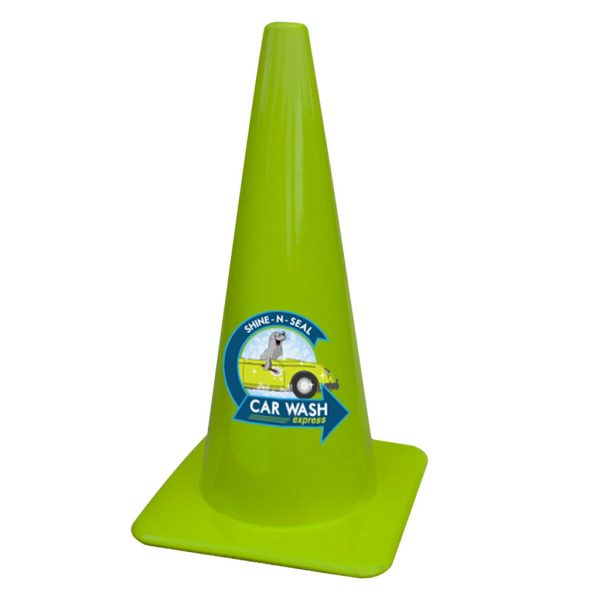 Full Color Decal Cones Product Photo